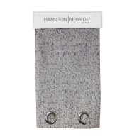 See more information about the Hamilton McBride Lurex Panel Curtains Charcoal 54 x 90cm