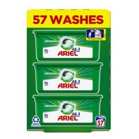 See more information about the Ariel 3 in 1 Washing Capsules Original 57 Washes
