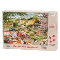 See more information about the House Of Puzzles Jigsaw Out For The Weekend 1000 Pieces