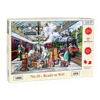 See more information about the House Of Puzzles Jigsaw No.16 Ready To Roll 1000 Pieces