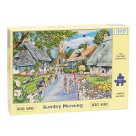 See more information about the House Of Puzzles Jigsaw Sunday Morning 500 Big Pieces