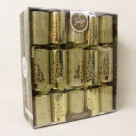 See more information about the Gold Trend Deluxe Christmas Crackers 10 Pack
