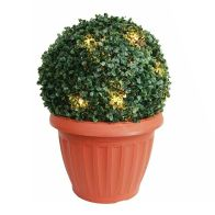See more information about the Solar Topiary In Pot With LED Lights