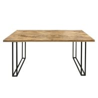 See more information about the Ravi Solid Wood Rectangular Dining Table