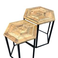 See more information about the Hexagon Nest of 2 Tables