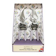 See more information about the Julie Dodsworth Lavender Twin Secateurs Gift Set