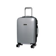 See more information about the it luggage Metallic Silver Cabin Sheen Suitcase