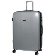 See more information about the it luggage Metallic Silver Large Sheen Suitcase