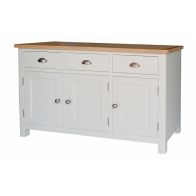 See more information about the Jasmine White 3 Door Large Sideboard
