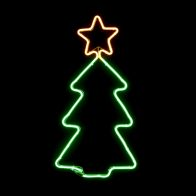 See more information about the Yellow & Green Christmas Tree Rope Light