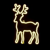 See more information about the Warm White Reindeer Rope Light