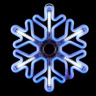 See more information about the Blue Snowflake Rope Light