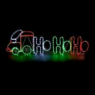 See more information about the Multicolour HoHoHo Train Rope Light