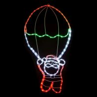See more information about the Multicolour Santa Parachute Rope Light