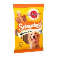 See more information about the Pedigree Schmackos Poultry Mix Strips 20 Pack