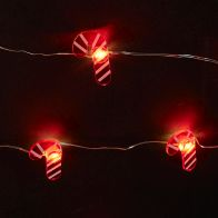 See more information about the 20 LED Warm White Candy Cane Lights Battery 1.9m