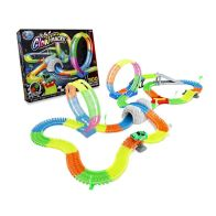 See more information about the Glow In The Dark Race Car Track Flexible 300 Pieces
