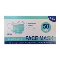 See more information about the Disposable Face Masks 50 Pack