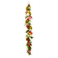 See more information about the Christmas Fruit Garland Mixed 150cm