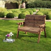 See more information about the Charlotte 2 Seater Garden Bench
