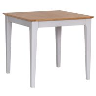 See more information about the Necton Oak Dove Grey Dining Table