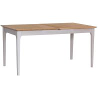 See more information about the Necton Oak Dove Grey 1.6-2.1m Extending Dining Table