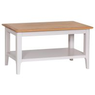 See more information about the Necton Oak Dove Grey Coffee Table