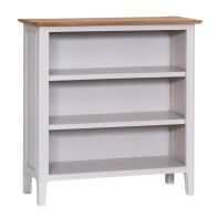 See more information about the Necton Oak Dove Grey Bookcase