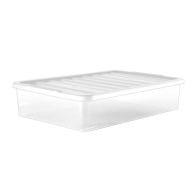 See more information about the 43L Underbed Clear Plastic Storage Box