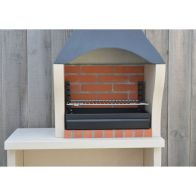 See more information about the Xclusive Decor Firenze Charcoal Barbecue with Side Table