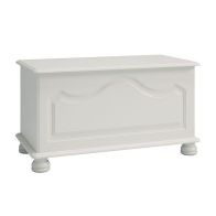 See more information about the White Contemporary Ottoman