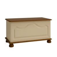 See more information about the Cream and Pine Traditional Ottoman