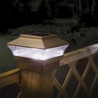 See more information about the Solar Post Garden Lights 2 Pack