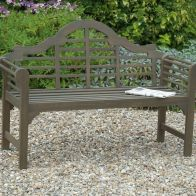 See more information about the Lutyens Style Bench Grey