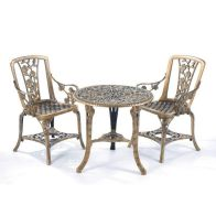 See more information about the Rose Garden Armchair Set Bronze