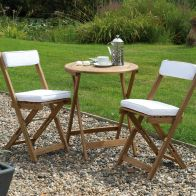 See more information about the Raffles Garden Bistro Set Natural