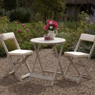 See more information about the Raffles Garden Bistro Set White