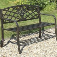 See more information about the Coalbrookdale Garden Bench