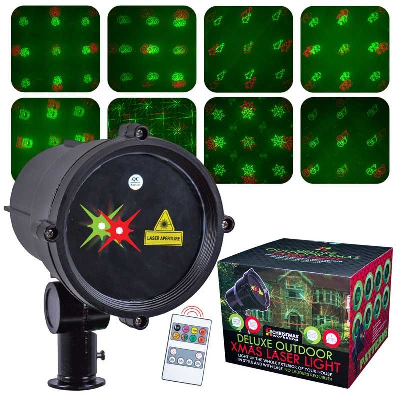 Buy Moving Christmas Outdoor Laser Lights With Timer Online At Cherry Lane