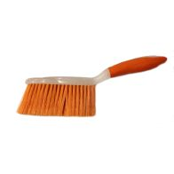 Bright Dust Pan and Brush - Orange