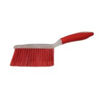 Bright Dust Pan and Brush - Red