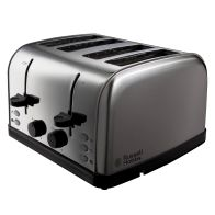 See more information about the Russell Hobbs Futura Toaster 4 Slice - Stainless Steel