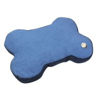 See more information about the Bone Faux Suede Pet Bed Blue