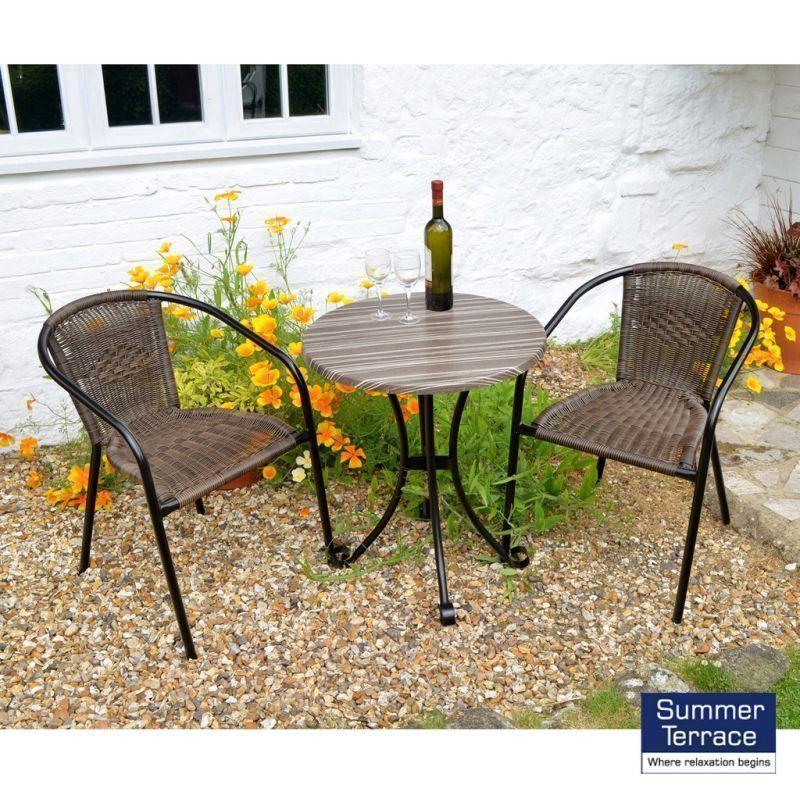 Kalmar Garden Furniture Bistro Set, Cherry Lane Furniture