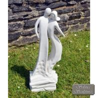 See more information about the Solstice Sculptures Sculptures First Date Garden Ornament Statue White