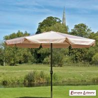 See more information about the Charles Taylor 3m Outdoor Garden Parasol Beige