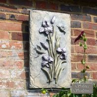 See more information about the Solstice Sculptures Lilac Bud Flower Garden Ornament Plaque