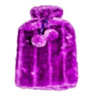 See more information about the Hot Water Bottle Fur Cover 2L Purple