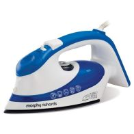 See more information about the Morphy Richards Eco Turbo Steam Dual Zone Iron - Blue White