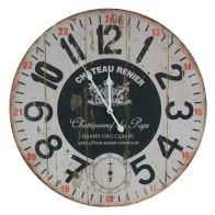 See more information about the Chateau Wooden Wall Clock (58cm Diameter)